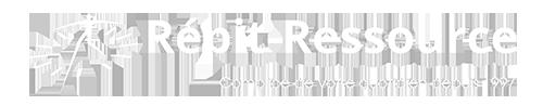 Logo Répit-Ressource Blanc
