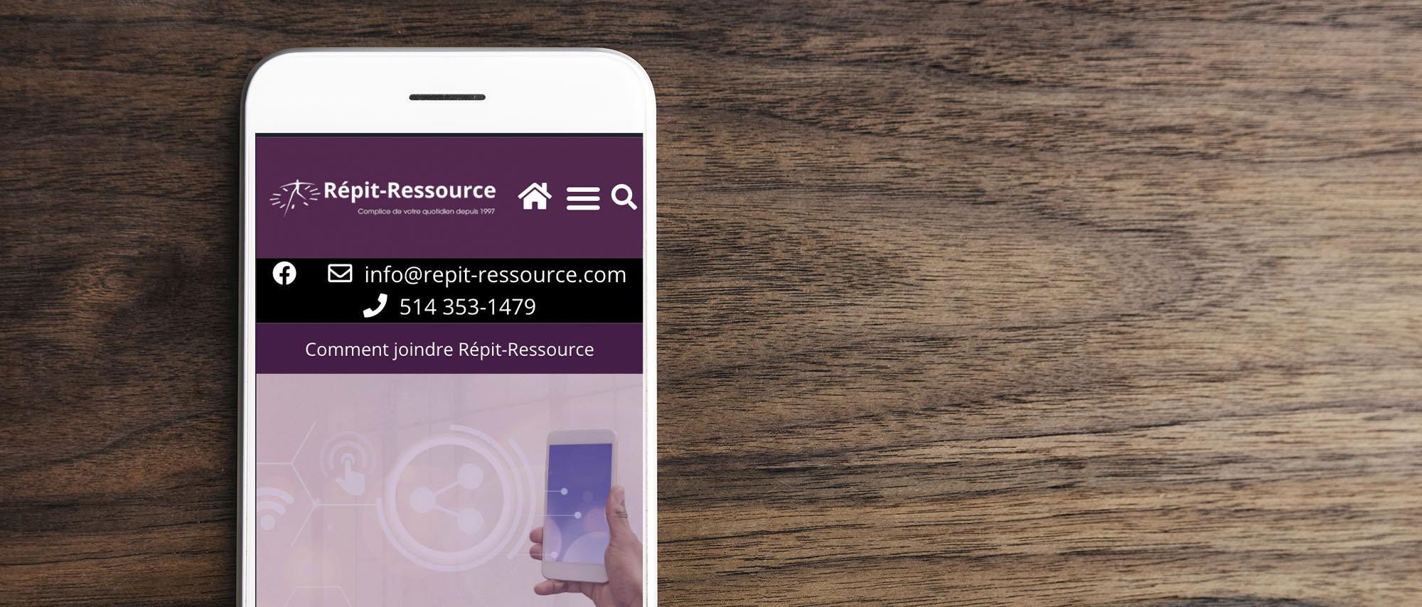 Contactez Répit-Ressource